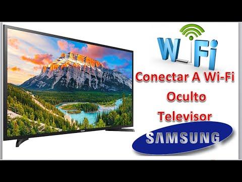 Que Hacer Para Conectarse A Una Wi-Fi Oculta Televisor Samsung