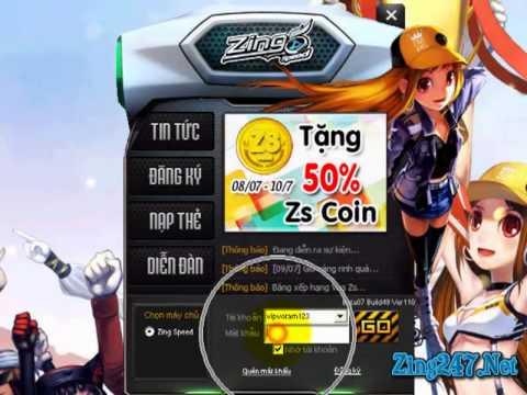 Mua Xe Zing Speed, Mua Siêu Xe A,S Tặng Coupon, Zing247.Net