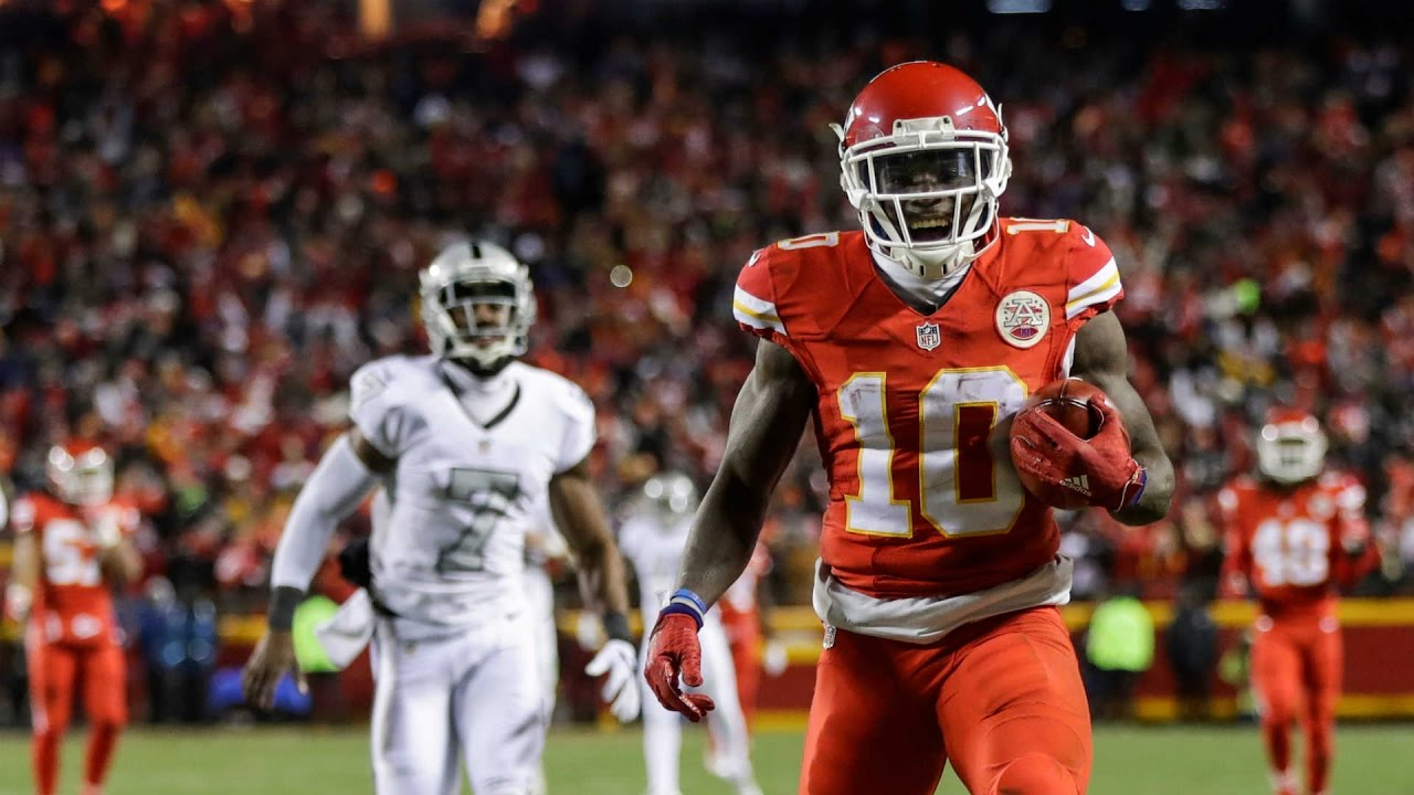 Image result for tyreek hill rookie season