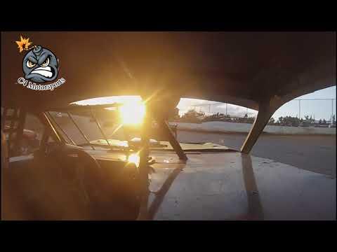 7-8-18 Mini Stock Feature North Alabama Speedway In-car camera