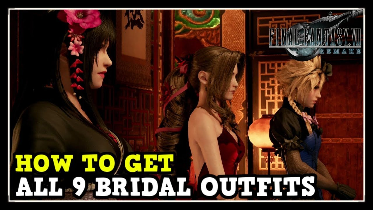 How to Get All 20 Dresses in Final Fantasy 20 Remake Dressed to the Nines  Trophy Guide