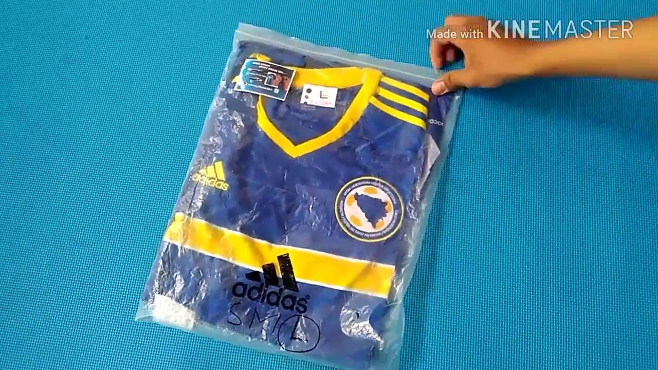 f3e02cd5d Bosnia-Herzegovina Home adidas jersey Euro 2016-2017   Kine Master ...