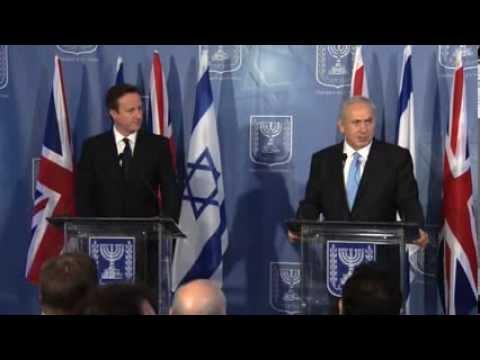 Press Conference: PM Netanyahu and British PM David Cameron