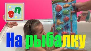 Видео для детей рыбалка Маша и медведь Game set fishing Masha and the Bear