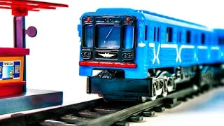 Train Metro with Blue Wagon Russian Moscow Metro Toys VIDEO FOR CHILDREN(Train Metro with Blue Wagon Russian Moscow Metro Toys VIDEO FOR CHILDREN =============================================== Also we ..., 2015-07-04T17:55:07.000Z)