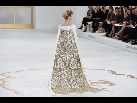 CHANEL Fall Winter 2014 2015 Haute Couture Paris Fashion Show Grand Palais HD