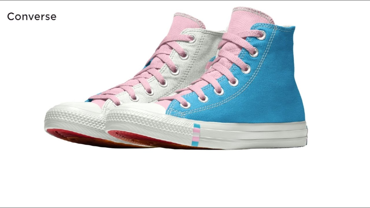 Converse unveils new trans-themed
