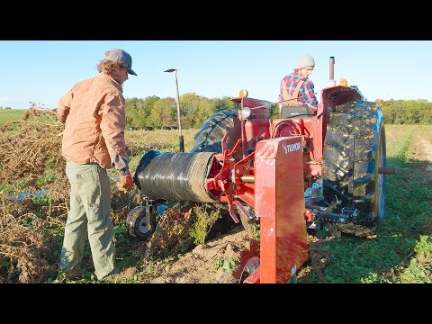 First Time Using Tilmor Plastic Winder To lift Our Hemp Plastic
