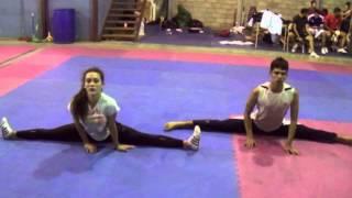 Flexibilidad para el Taekwondo.