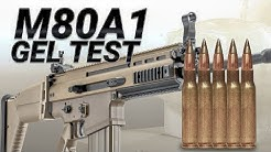 Testing The Army's 7.62mm Wonder Bullet: M80A1 reduced velocity gel test