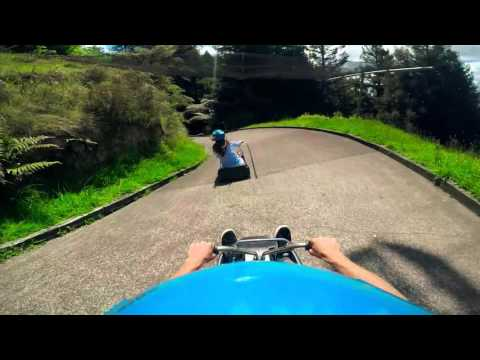 Skyline Rotorua Luge - New Zealand vs Australia