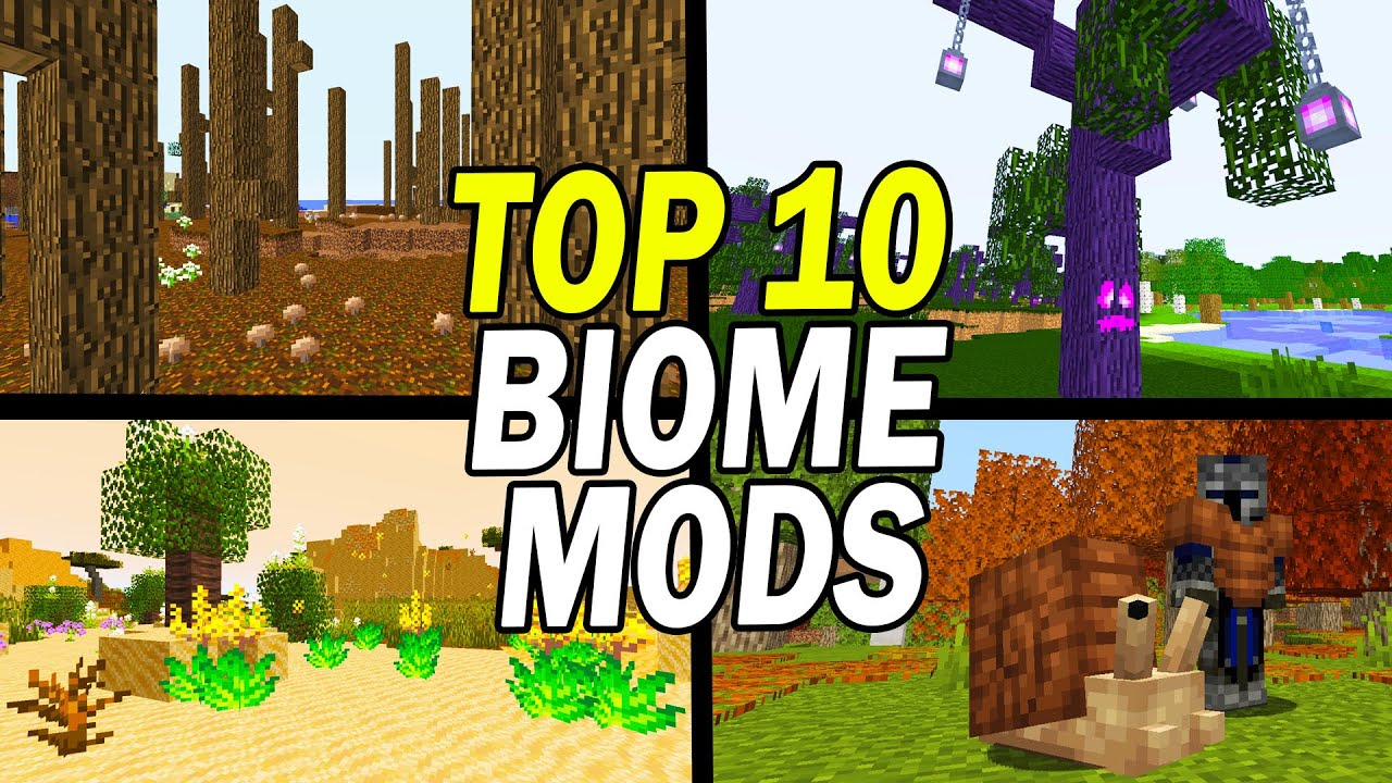 Top 9 Minecraft Biome Mods (World Generation)