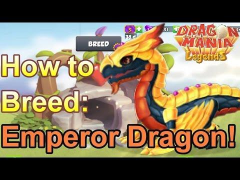 How to Breed: Emperor Dragon - Dragon Mania Legends