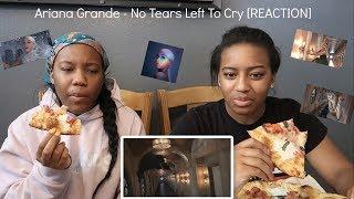 ariana grande no tears left to cry mv reaction