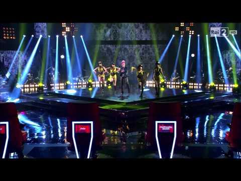 "The Voice IT | Serie 2 | Live 1 | Giulia Dagani canta ""Heart of glass"""