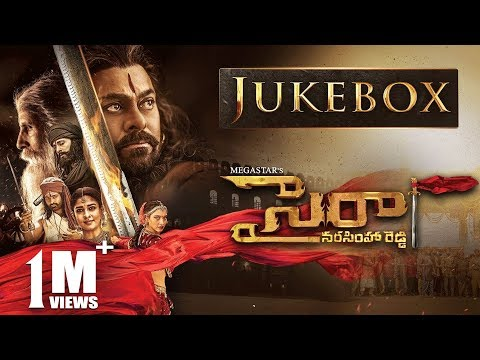 Sye Raa Narasimha Reddy Jukebox - Telugu | Chiranjeevi | Amit Trivedi | Surender Reddy