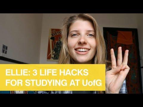 Ellie: 3 life hacks for studying at UofG