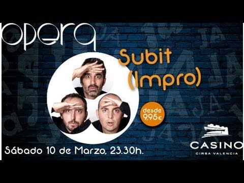 Casino Cirsa y �pera apuestan de nuevo por la improvisaci�n de Subit
