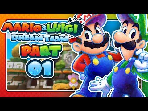 Mario & Luigi: Dream Team - Part 1: GET OFF PI'ILLO ISLAND!
