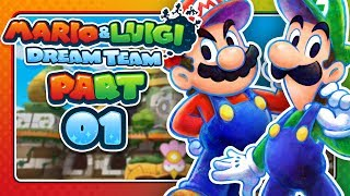 Mario & Luigi: Dream Team - Part 1: GET OFF PI