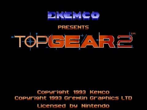 SNES Longplay [212] Top Gear 2
