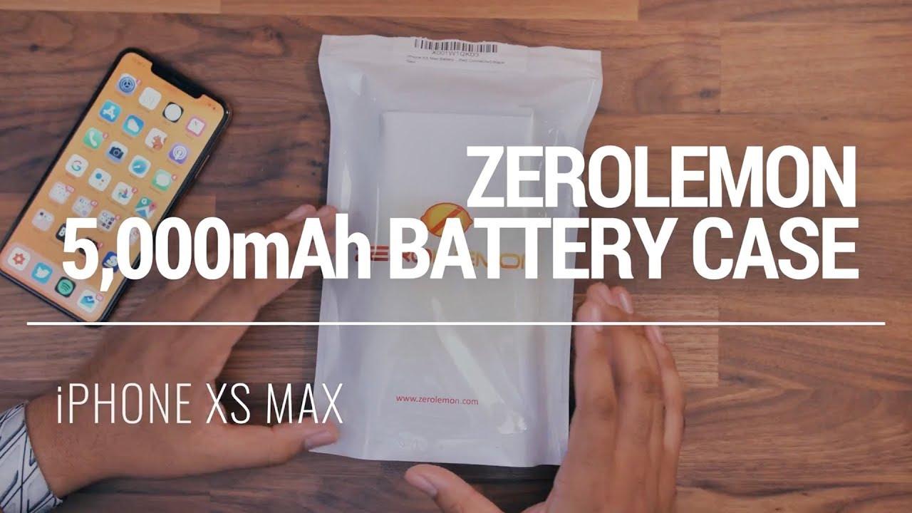official photos 0d8b0 1efce iPhone XS Max 5,000mAh Battery Case! [ZeroLemon]