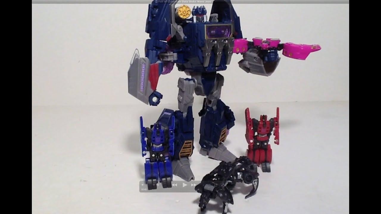 Transformers Fall of Cybertron Rumble Complete FOC Data Disc Hasbro Figure