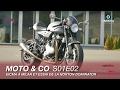 Moto and Co S01E02 : Nouveautés de l'EICMA à Milan et essai de la Norton Dominator