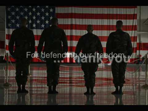 When A Soldier Comes Home (Trace Adkins- Till The Last Shot's Fired)