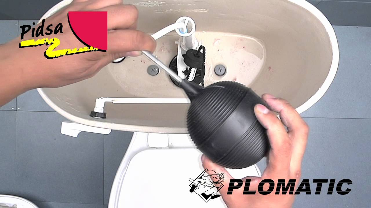 C mo instalar el flotador para sanitario youtube for Cambiar un water