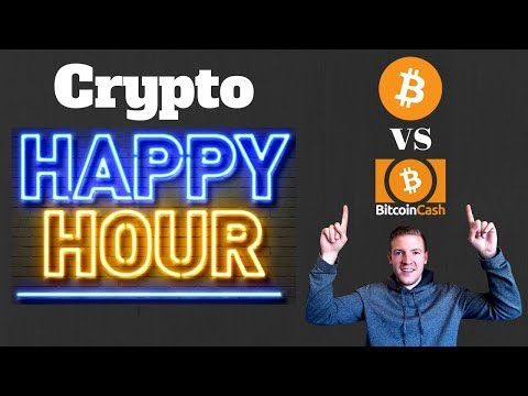 Crypto Happy Hour - Bitcoin vs Bitcoin Cash and Crypto Craziness - December 20th Edition