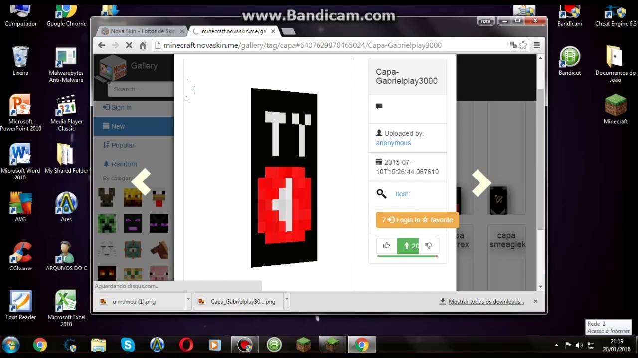 Como Colocar Skin E Capa No Minecraft Pirata Launcher DarkLBP - Skins para minecraft 1 8 con capa