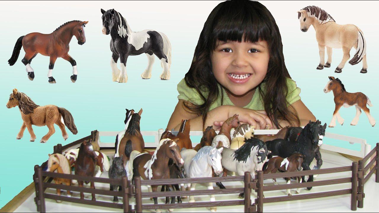 Safari Toys For Boys : Horses schleich safari toys animal figures year old entire