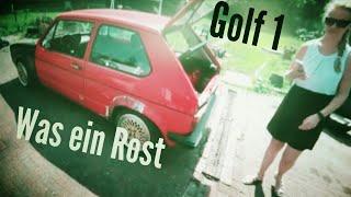 besuch bei turbo rouven was macht der golf1 umbau?