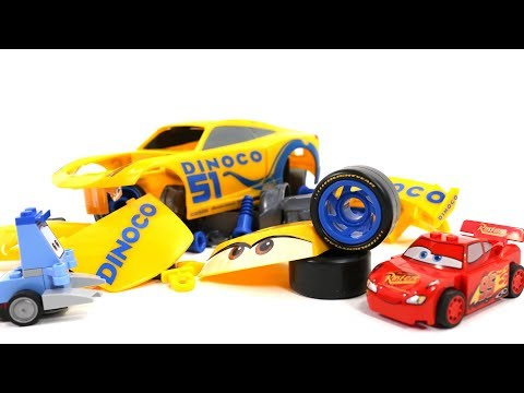 Car Assembly Videos for Kids - Cars3 Cruz Ramirez Toys Build and Play for Children - YouTube