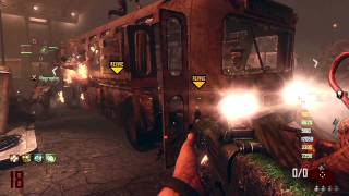 Black Ops 2 Zombies 8 Man Tranzit Live Commentary/Gameplay Pt. 4