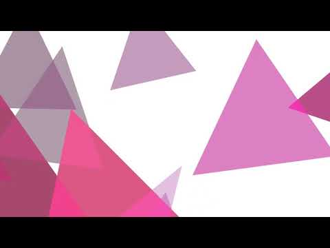 Pink Triangles x Gravity - Motion Background