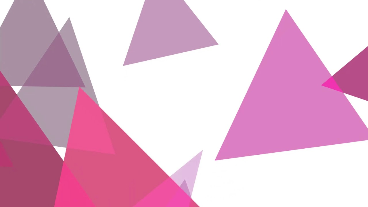 pink triangles x gravity motion background youtube