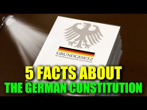 5 FASCINATING FACTS ABOUT THE GERMAN CONSTITUTION - Germany's Grundgesetz! | VlogDave