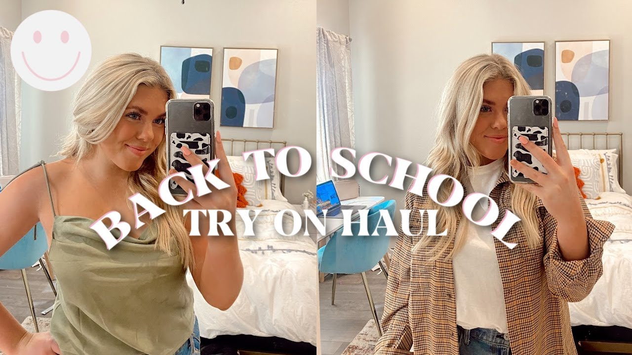 HUGE BACK TO SCHOOL TRY ON HAUL! (professional, going out & gameday outfits) | ft.  Princess Polly