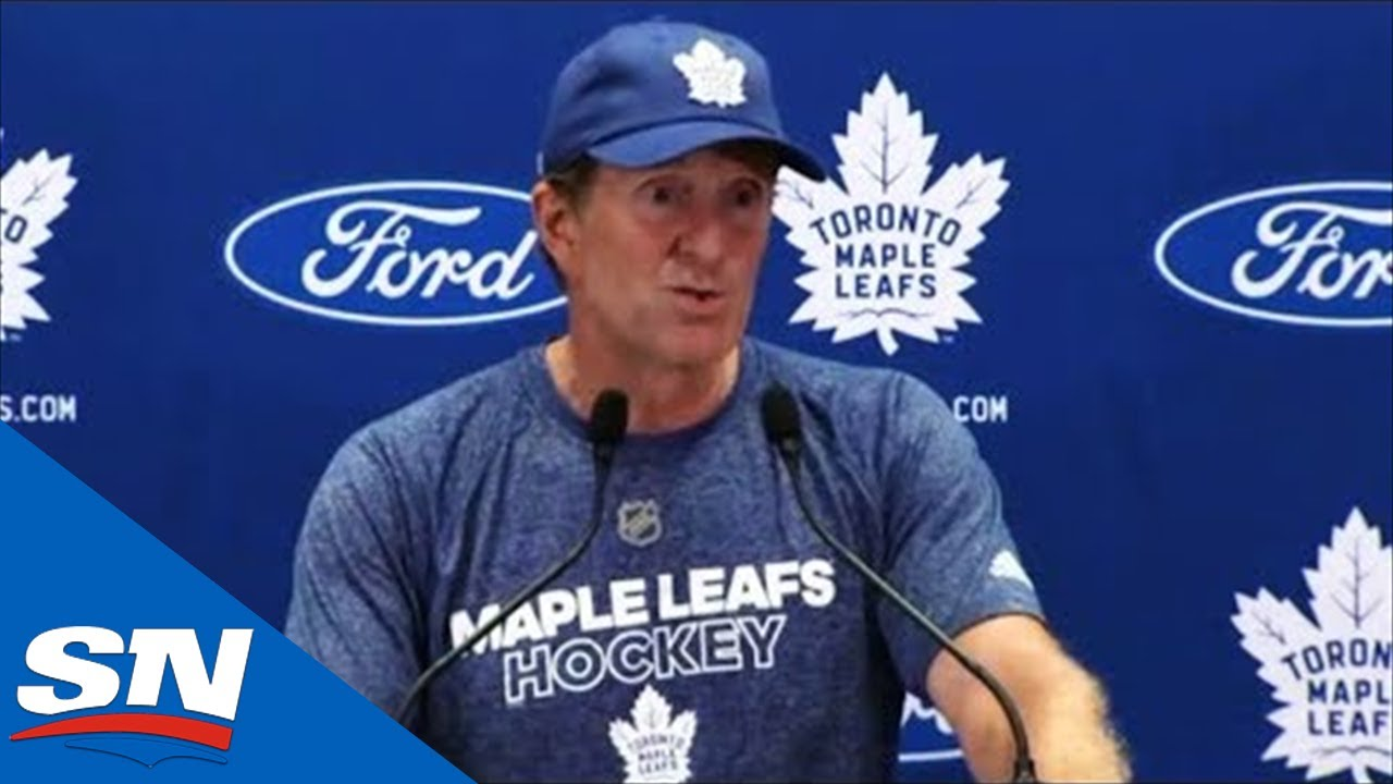 Mike Babcock On Goals For Maple Leafs, Jobs Open At Training Camp | FULL Press Conference