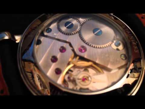 ETA 6498 custom watch