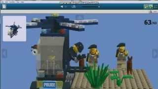 Полицейский военный вертолет Lego(В этом видео я покажу вам инструкцию на полицейский военный вертолет с 4 минифигурками собственной сборки...., 2015-01-17T08:52:40.000Z)