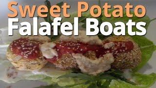 Vegan Recipe: Sweet Potato Falafel