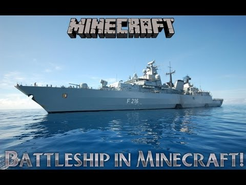Lets Play Battleship in Minecraft!