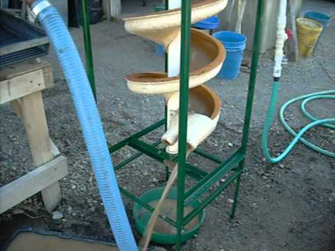 Spiral Concentrator (Test unit) - J.Farmer Mining