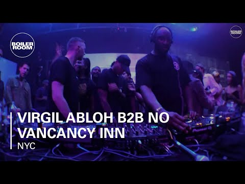 Virgil Abloh b2b No Vancancy Inn b2b Heron Preston b2b Benji