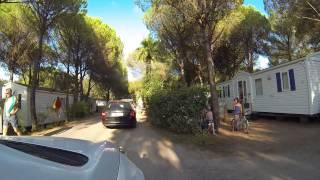 Petit tour dans le camping La Baume La Palmeraie a Frejus en aout 2015