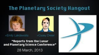The Planetary Hangout - 28 March, 2013