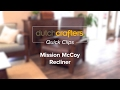 McCoy Mission Recliner at DutchCrafters